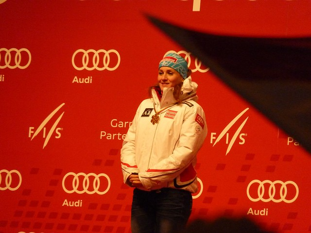 Lizz Görgl, Weltmeisterin Abfahrt - Ski-WM 2011