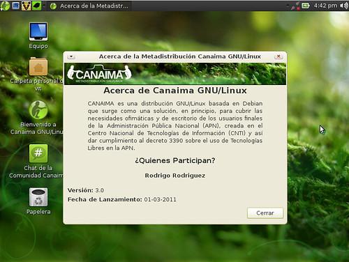 Creditos en Canaima 3.0