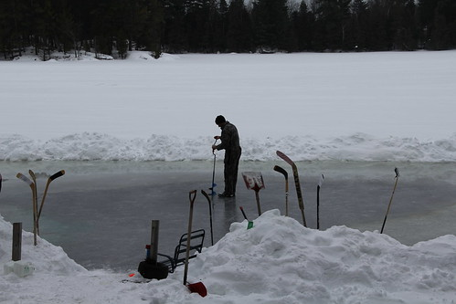 Flooding the rink