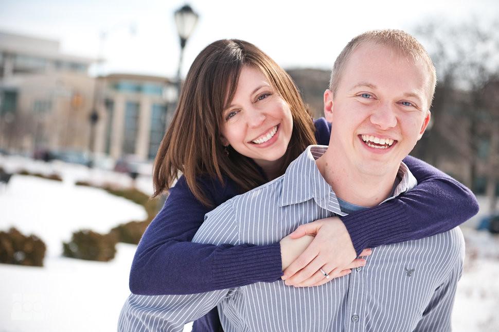 Ann + Matt | Springfield, IL engagement