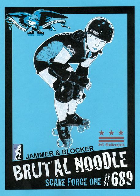 Brutal Noodle Trading Card