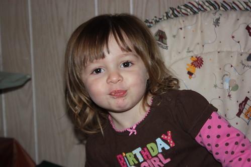 Zoe turns 2!