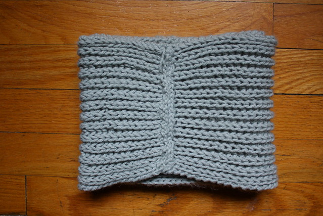 Michael Ann Made The Fishermans Rib Knitted Cowl