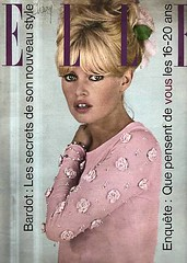 ELLE-November 1963 (Fashion Covers Magazines (Second)) Tags: elle 1963 brigittebardot vintagefashion vintagemagazine ellemagazine 1960s jacquesheim 1960sfashion gugan