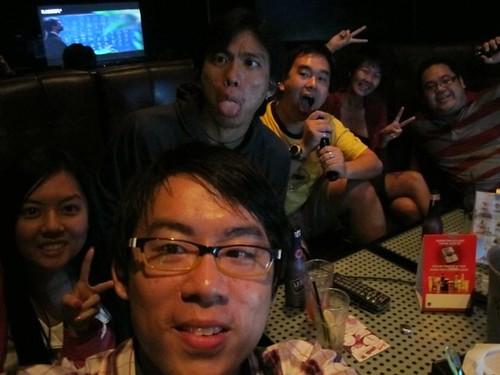 Chee Li Kee,Jayren,Tony,Tikkos,Michelle and Kian Fai