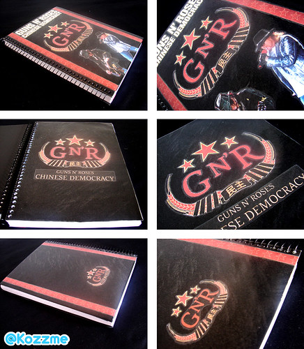 Caderno Guns N' Roses Chinese Democracy