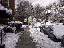 Baltimore snow Jan 2011 D