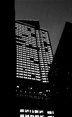 200 West Street (La Femme Architecte) Tags: nyc blackandwhite bw building architecture construction 911 officebuilding architectural wtc groundzero lowermanhattan glassbuilding freedomtower cameraapp 200weststreet