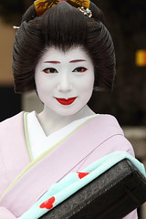 Geiko girl  ------ (Teruhide Tomori) Tags: girl beautiful beauty japan kyoto traditional geiko geisha    kimono gion odori    yasaka      mamechiho  earthasia oltusfotos