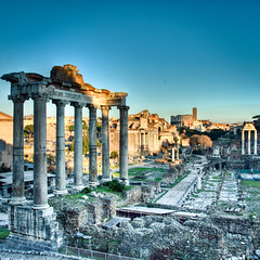 Roman Forum (HDR) (luigig75) Tags: blue italy orange rome night roman forum foro romano clear coliseum hdr magnum colosseo saariysqualitypictures projectweather mygearandme mygearandmepremium mygearandmebronze mygearandmesilver mygearandmegold mygearandmeplatinum mygearandmediamond