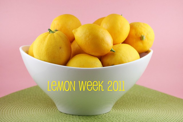Meyer Lemon Week 2011