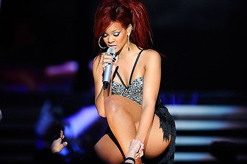 Red Hot Red Haired Rihanna