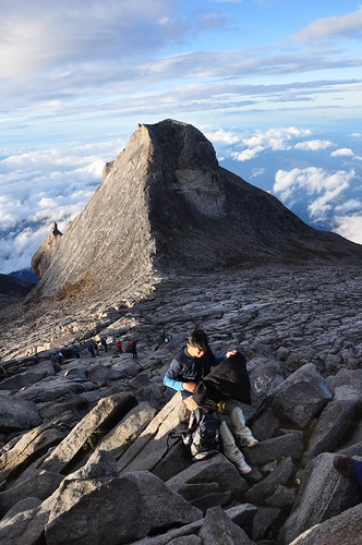Lows Peak of Mt. Kinabalu, 4,095 meter above sea level