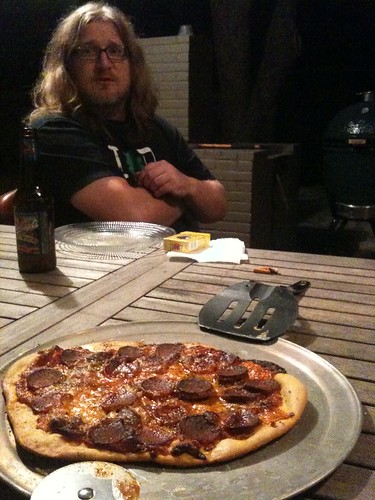 Big Green Egg Pizza, Part Two