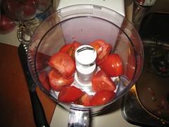 Tomatoes, quartered