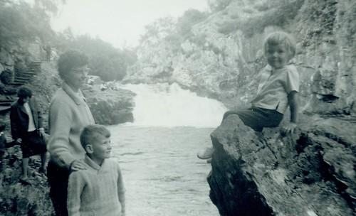 Jenny McCreath, Glenn McCreath and Valerie McCreath 1960s