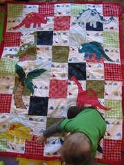 Henry and Dinosaur Quilt