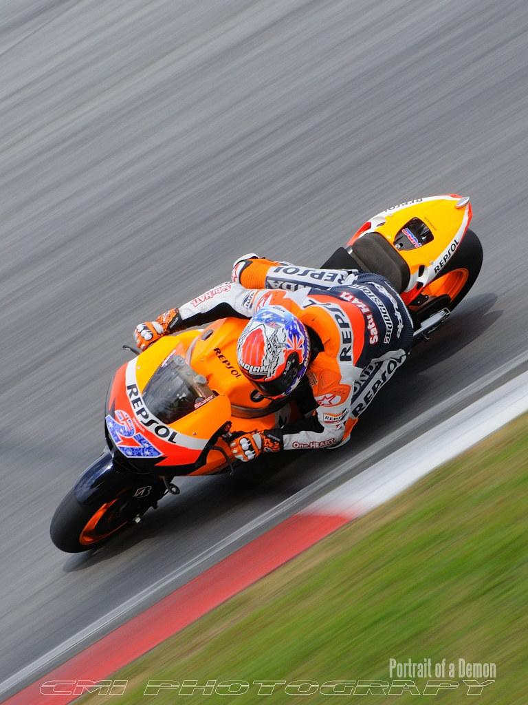 MotoGP pre-race testing SEPANG 24th Feb 2011