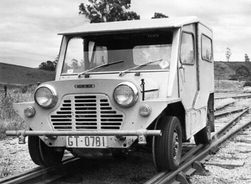 Austin Mini Moke Railcar