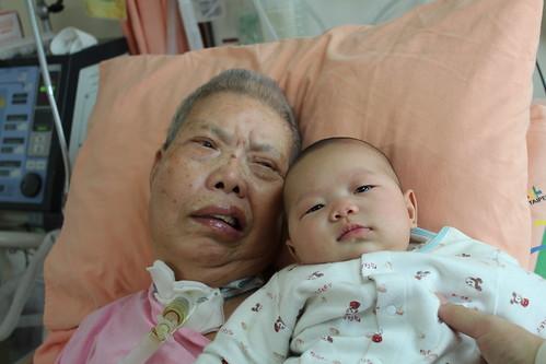 楊小欣與奶奶