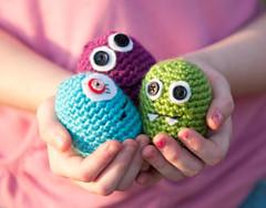 Amigurumi Baby Monsters : Ravelry: Baby Monster Beginner Amigurumi pattern by ...