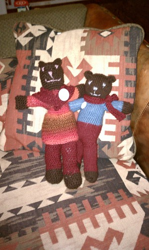 Vince and Pat Bears