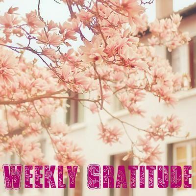 weekly gratitude