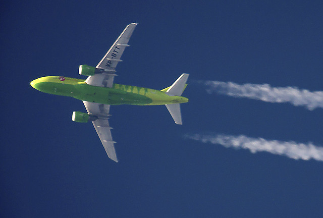 S7 Airlines A319 VP-BTT