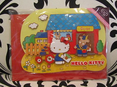 Hello Kitty Greeting Card - Happy Birthday (Suki Melody) Tags: hello bike glitter cat office post mail hellokitty kitty goat sanrio collection card kawaii envelope billy characters greeting