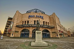 Home Plate Entrance of PNC Park HDR (Dave DiCello) Tags: morning beautiful skyline photoshop sunrise river dawn nikon pittsburgh tripod nikkor hdr highdynamicrange pncpark robertoclemente sunflare pittsburghpirates cs4 steelcity photomatix beautifulcities yinzer honuswagner cityofbridges tonemapped theburgh clementebridge pittsburgher colorefex cs5 beautifulskyline d700 thecityofbridges pittsburghphotography davedicello pittsburghcityofbridges steelscapes hdrexposed picturesofpittsburgh cityofbridgesphotography