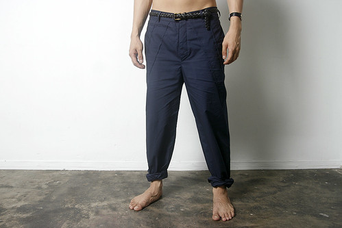 shell stitch pants