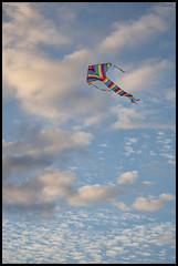 Come Fly With Me (BJRainbow) Tags: kite game clouds high rainbow stripes stripey acg pregame bigmomma anotherchallengegroup beginnerdigitalphotographychallengewinner pregamewinner