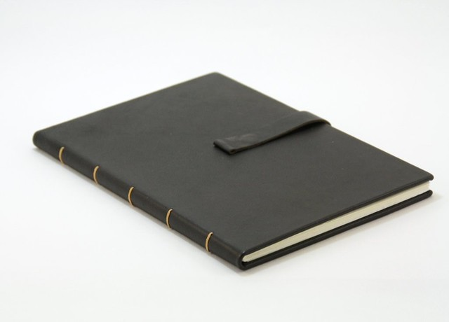 custom order hardcover full leather binding