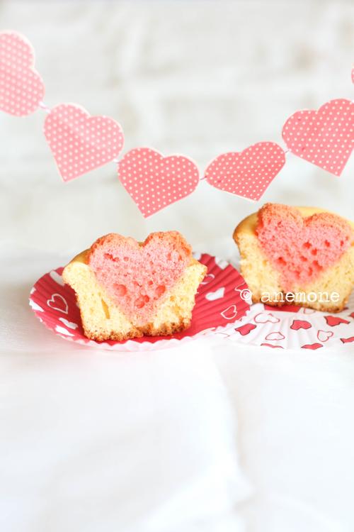 Cupcake col cuore!