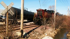 Chicago Terminal Railroad switching local at work. Bensenville Illinois USA. Wednsday, March 2nd, 2011. by Eddie from Chicago
