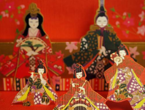 (62/365) Hinamatsuri postcard