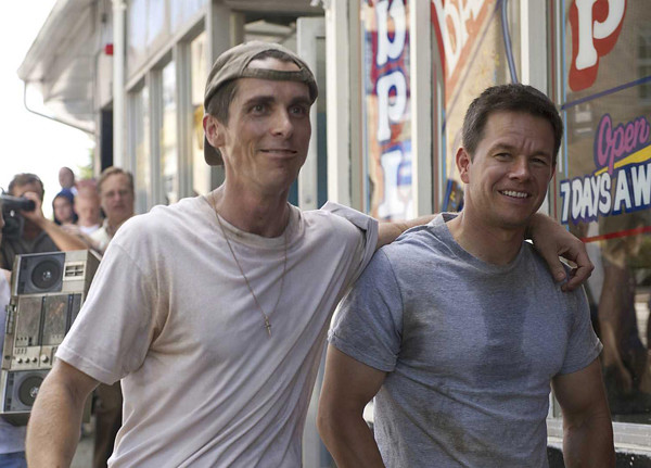 Christian Bale and Mark Wahlberg