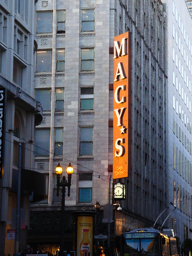 Macy's golden hour