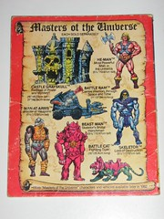 masters of the universe mini illustrated book king of castle grayskull 012 (tjparkside) Tags: original man castle mystery cat vintage toy toys one 1 book back 1982 comic power arms time destruction space tiger illustrated books battle mini lord advertisement adventure master most cover 80s beast series warriors through masters fighting ram universe powerful fortress motu mattel carries weapons heman brutal skeletor henchman manatarms grayskull skeletors