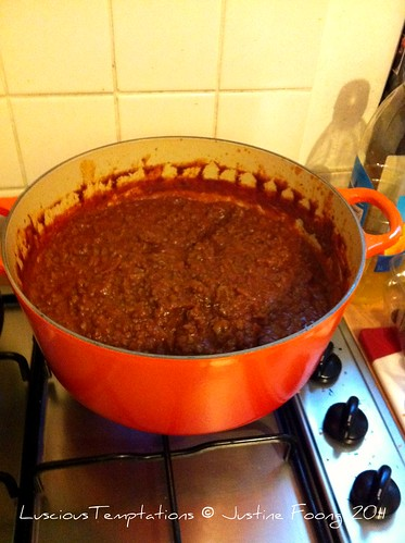 Huge Potful of Bolognese