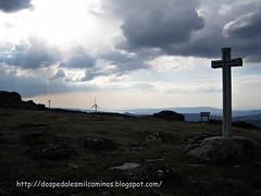 cruz ermita Santa Mariña ( monte Seixo )