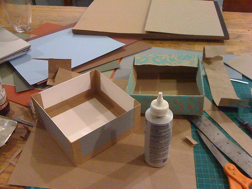 nesting boxes project