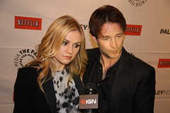 Anna Paquin and Stephen Moyer at PaleyFest2011
