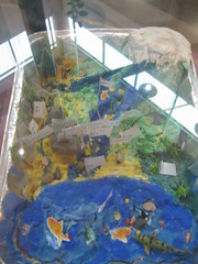 Gunston Middle School Watershed Projects (Arlington Public Library) Tags: community students display art youthservices kids craftingandmaker