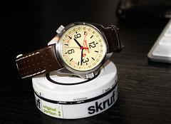 K34 front (hakanwikstrom) Tags: watch wristwatch vostok k34 komandirskie