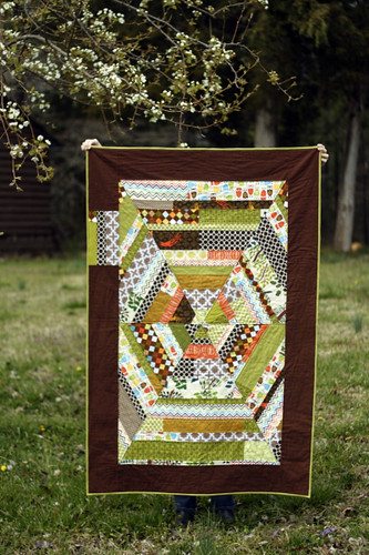 finished!  Sixth Time's the Charm Quilt