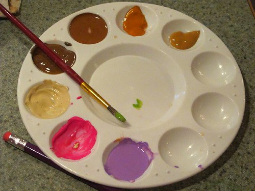 Paint palettes 5 - Frida party