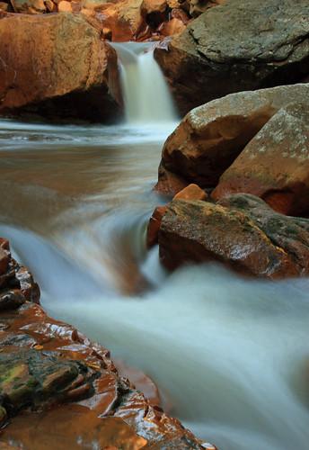 Long exposure of Douglas Falls, West Virginia