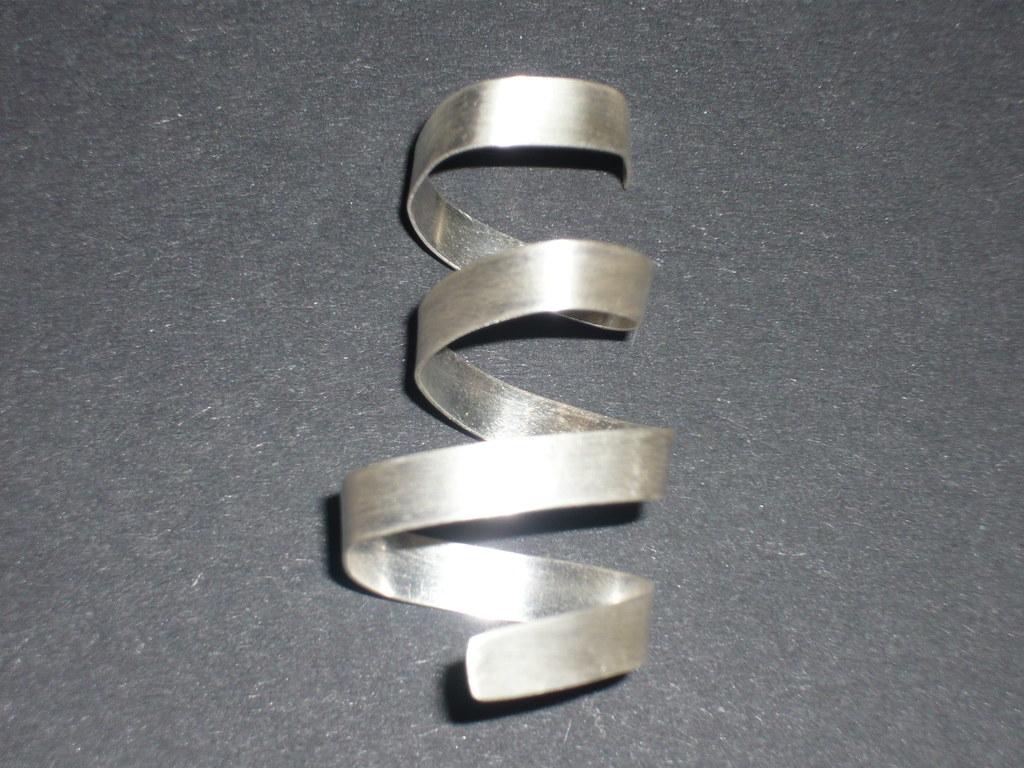 3/3/11 Silver Bondage Ring TADA365 No:83 & RAW52 No:8
