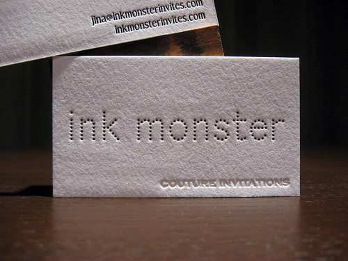 Ink Monster Business Card